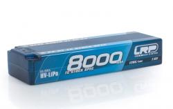 P5-HV TC Stock Spec 8000mAh Hardcase Akku - 7.6V LiPo - 120C/60C LRP 430250