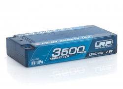 P5-HV Shorty LCG 3500mAh Hardcase Akku - 7.6V LiPo - 120C/60C LRP 430257