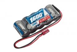 LRP RX-pack Straight - BEC 6.0V 1600mAh LRP 430602