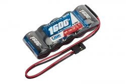 LRP RX-pack Straight - JR 6.0V 1600mAh LRP 430603