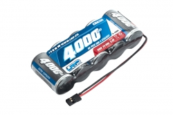 1/5 RX-pack Straight JR 6.0V 4000mAh LRP 430609
