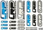 Aufkleberbogen LRP Logo DIN A4 2 LRP 62419
