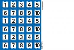 LRP-Challenge Startnummern Set 2 LRP 62428