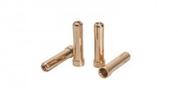 5mm auf 4mm Gold Adapterstecker 4 St LRP 65811