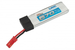 LiPo Flugakku 570 - 30C 3.7V Blade 120SR LRP 79086