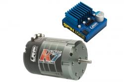 BL Combo Spin Zero / Vector k7 17.5T LRP 80752
