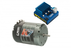 BL Combo Spin Zero / Vector k7 10.5T LRP 80754