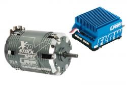 BL Combo Flow WorksT. / X20 Stock 10.5T LRP 81130