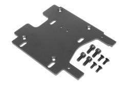 Motorhalter 3.0mm (7075/grau/Sav Flux) hpi racing H100906