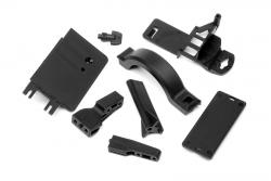 Akkubox Halter/Abdeckung Set (Sav Flux) hpi racing H100909