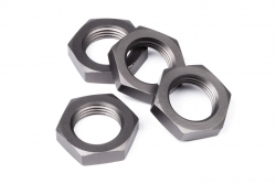 Radmutter 17mm gunmetal (4St) hpi racing H101421