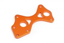 Diff-Halter vorne 7075 (orange/TrTruggy) hpi racing H101762
