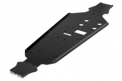 Chassis 3mm 7075 (schwarz/Tropgy Buggy) hpi racing H101791