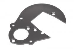 Getriebeplatte (gunmetal/Baja 5B 2.0) hpi racing H102161