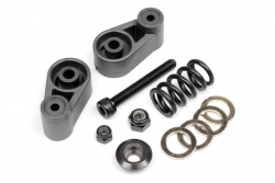 Servo Saver Set (gunmetal/Baja 5B 2.0) hpi racing H102165