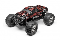 GT-2 Karo (schwarz/grau/rot/Savage Flux) hpi racing H102219
