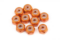 Alu Stoppmutter M3 (dünn/orange/10St) hpi racing H104120
