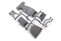 Hochleistungs Skid Plate (grau/Blitz) hpi racing H104665