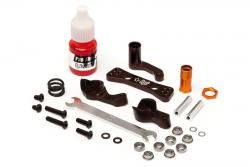 Aluminium Lenkgestänge Set (braun/Blitz) hpi racing H104891