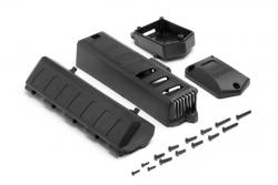 Akkufach-Deckel/Empfängerbox Set (SavXS) hpi racing H105690