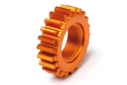 Gewinde-Ritzel 22Zx12mm (1M/orange/N3) hpi racing H106631