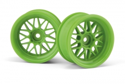HRE C90 Felge 26mm grün (6mm Offset/2St) hpi racing H106772