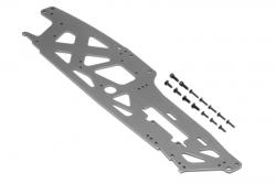 TVP Chassis (links/grau/3mm/Sav XL Octa) hpi racing H108942