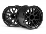 BBS Felge 48x34mm schwarz (14mm Off/2St) hpi racing H109155