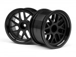 BBS Felge 48x31mm schwarz (9mm Off/2St) hpi racing H109156