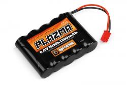 Plazma 6.0 1200mAh NiMh Micro Akku-Pack hpi racing H110203
