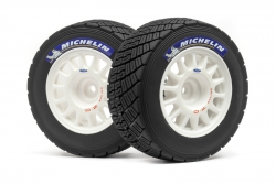 Rally OR Felgen/Reifen Set(weiss/2S/WR8) hpi racing H113850