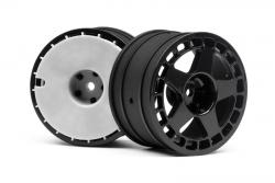 fifteen52 Turbom Felg. schw (57x35mm/2S) hpi racing H114367