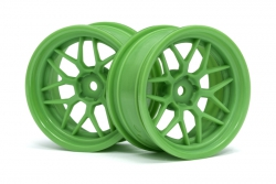 Tech 7 Felge grün 52 x 26mm +6mm Offset (2St) hpi racing H116531