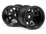 Classic King Felge (schwarz/2.2in/2St) hpi racing H3061