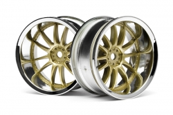 Work XSA 02C Felge 26mm (chrom,gold/9mm) hpi racing H3299