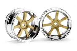 RG Lights 57S-Pro Felge chr./gold (6mm) hpi racing H3320