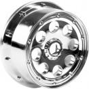 Outlaw Felge chrom (120x60mm/-4mm/2St) hpi racing H3333