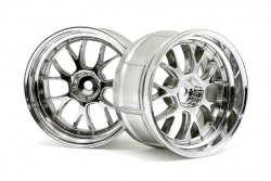 LP32 LM-R Felge chrom (32mm/2St) hpi racing H33460