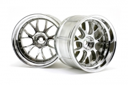 LP35 LM-R Felge chrom (35mm/2St) hpi racing H33461
