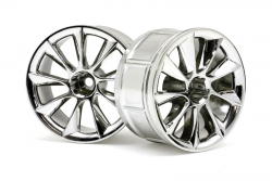 LP32 Felge ATG RS8 chrom (32mm/2St) hpi racing H33463