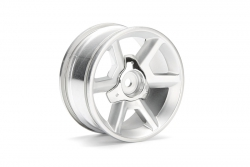 GT Felge silber 26mm (6mm Offset/2St) hpi racing H33471