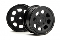 Stock Car Felgen 26mm schwarz hpi racing H3741