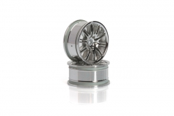 10-Speichen Motorsport Felge 26mm(chrom) hpi racing H3772