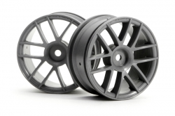 6-Speichen Split Felge 26mm Anthrazit hpi racing H3799