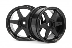 TE37 Felge 26mm (schwarz/3mm Offset) hpi racing H3841
