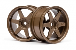 TE37 Felge 26mm (bronze/3mm Offset) hpi racing H3843