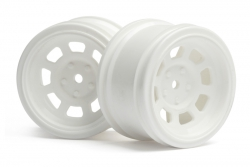 Vintage Stock-Car Felge 31mm (weiss/6mm) hpi racing H3859