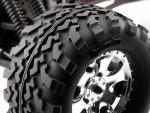 GT2 Reifen (S Typ) auf GT5 Felgen(chrom) hpi racing H4709