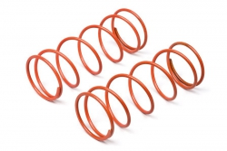 Dämpferfeder BBD (orange/60mm/98gf/2St) hpi racing H67449