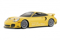 Porsche 911 Turbo Karosserie (190mm) hpi racing H7335